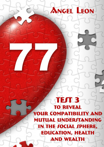 Test3 toreveal your compatibility andmutual understanding inthesocial sphere, education, health andwealth