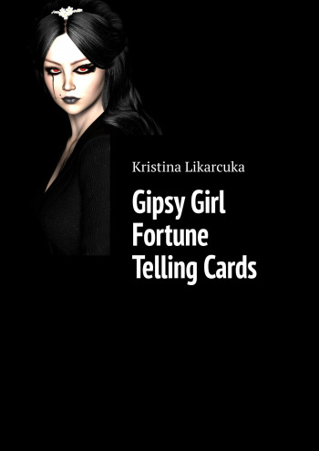 Gipsy Girl Fortune Telling Cards